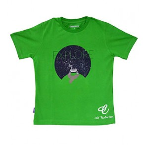 Future Astronaut Augmented Reality Wear 4D T-shirt for Boy