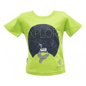 Future Astronaut EXPLORE Augmented Reality Wear 4D T-shirt for Boy